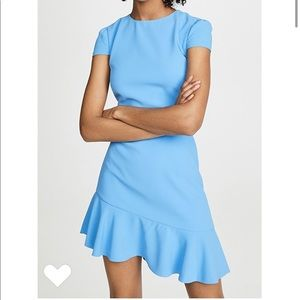 Alice + Olivia Fable Assymetric Dress